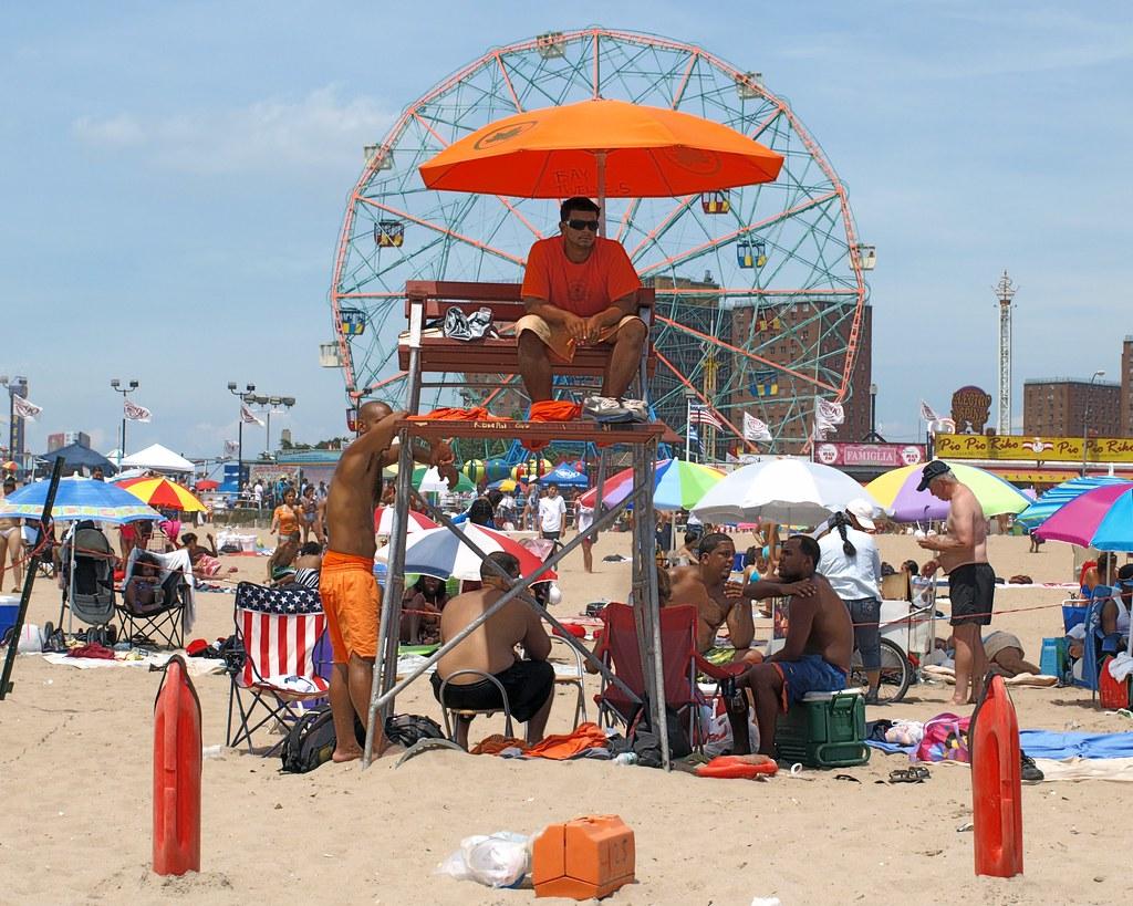 Coney Island Beach NY