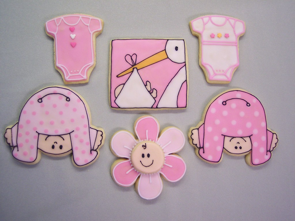 baby shower cookies my friend asked me to make some cookie