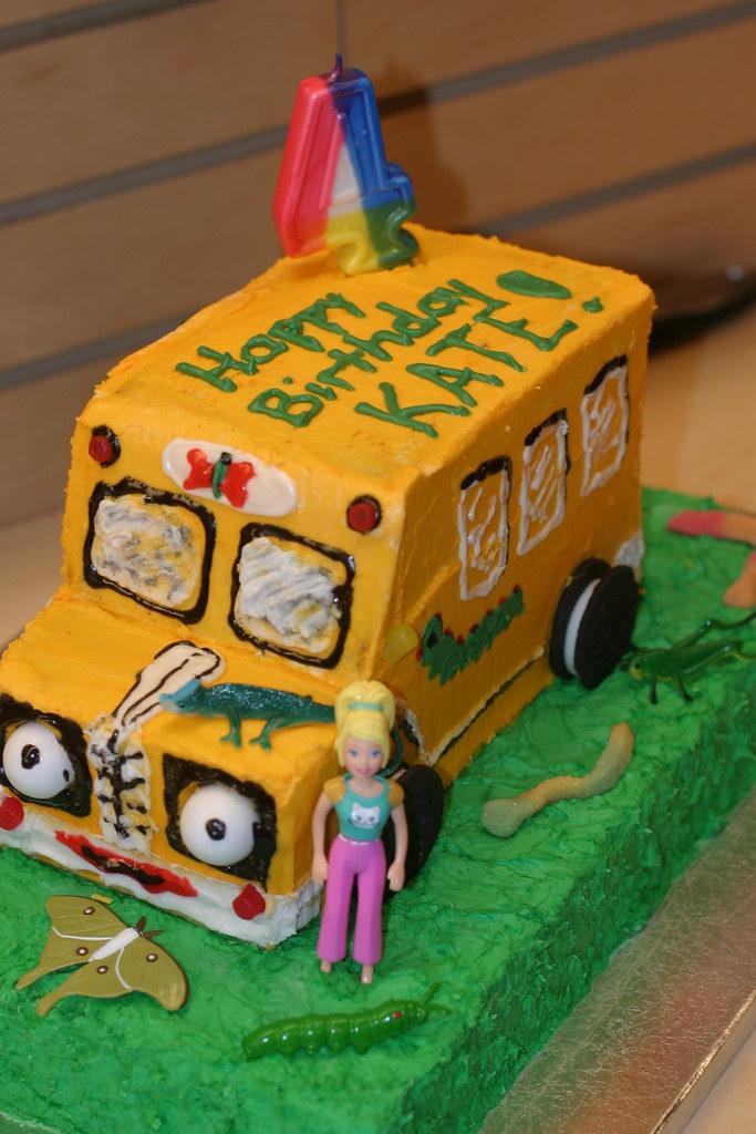 Kates 4th Magic School Bus Birthday Cake Lass113 Flickr