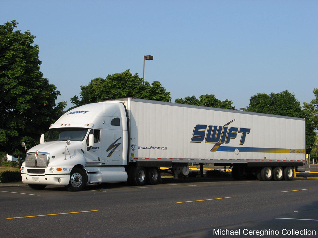 Swift Transportation Kenworth T2000 With A Quot Tri Axle Quot Reef