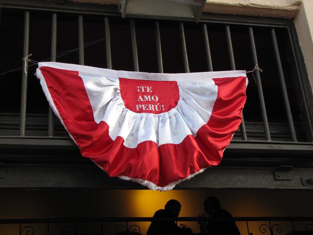 Peru Independence day. Courtesy: Flickr