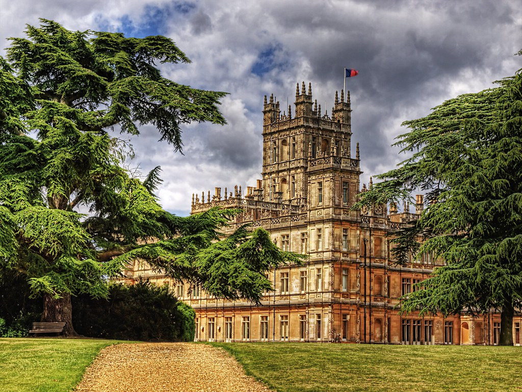 Highclere Castle Wallpaper Highclere Castle