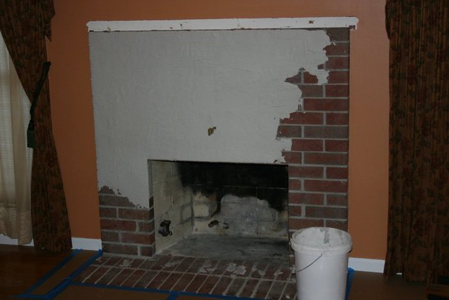 Project Library Fireplace Mantel Redo 2 Flickr Photo Sharing