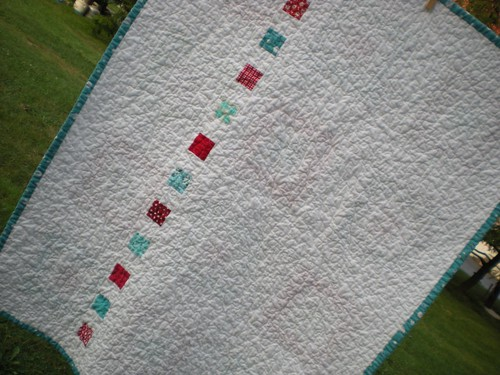 Pieced Back for Square in a Square Quilt | by Erin @ Why Not Sew? Quilts