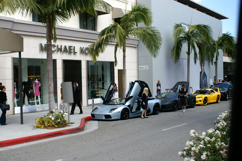Expensive Cars On Rodeo Drive  Tina P Flickr
