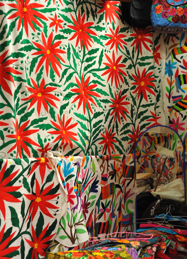 De State Jobs >> Otomi Textiles Mexico | The large embroidered cloth as well … | Flickr