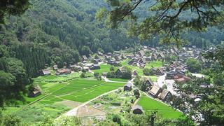 Village rice fields, Hida Shirakawa-go | by Joel Abroad
