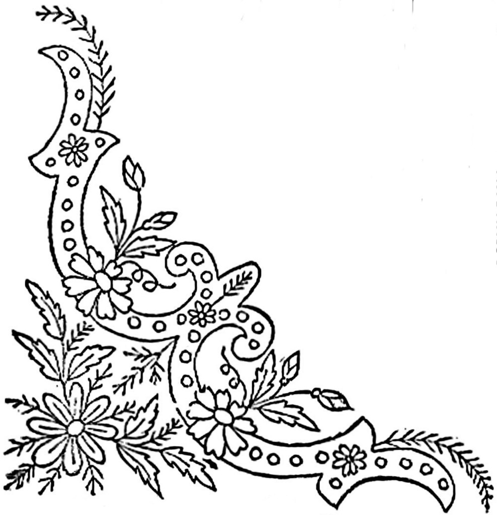1886 Ingalls Ornate Daisy Corner This Image Came From