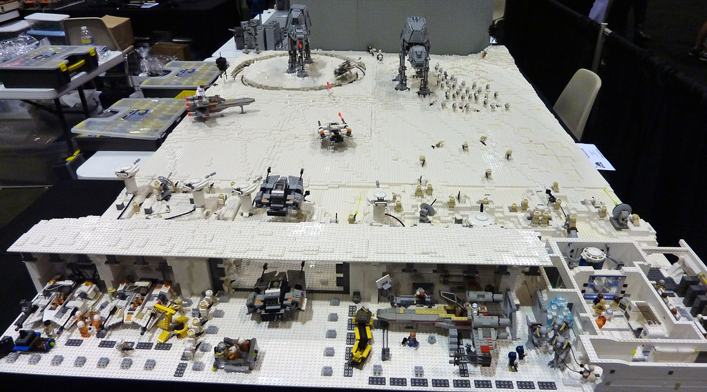 How To Build A Lego Star Wars Hoth Base