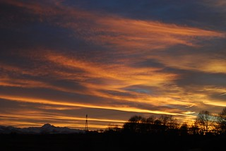 Pyrenees sunset over the Pic Feb 09 | by ni kon ninja