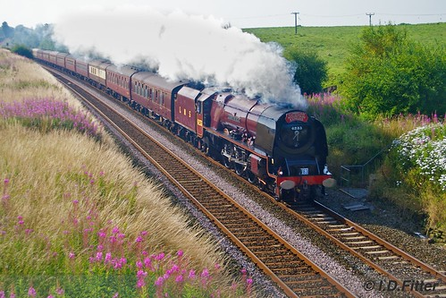 6233 Duchess of Sutherland CME 8th Aug 2009 | by ianfitter