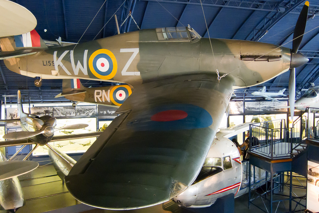 Hawker Hurricane Mk1 L1592 Science Museum London Flickr