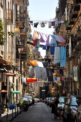 Laundry Day in Naples Centro Storico | by Food Lovers Odyssey