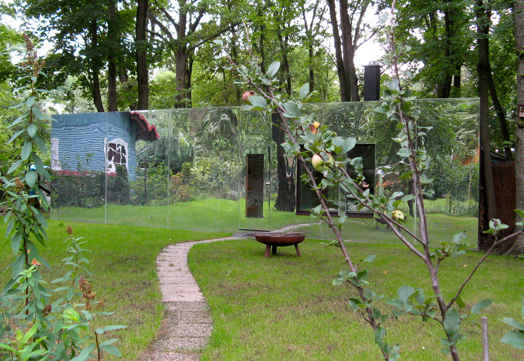 Mirror house in the woods campcassidy298 flickr - The house in the woods ...