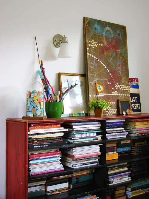 Dining Room Shelf Display Ideas