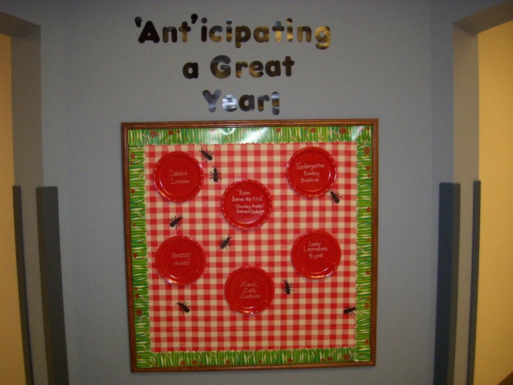 Classroom Cooking Ideas For Kindergarten ~ Classroom photos front hall bulliten board