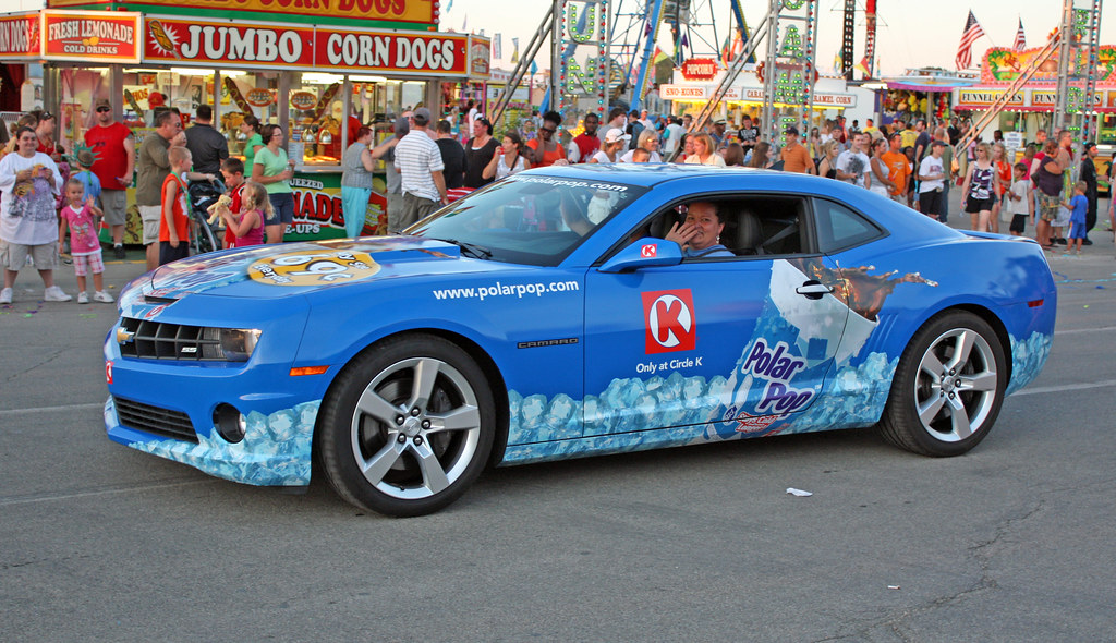 2010 Chevrolet Camaro Coupe Circle K Polar Pop Promo Car