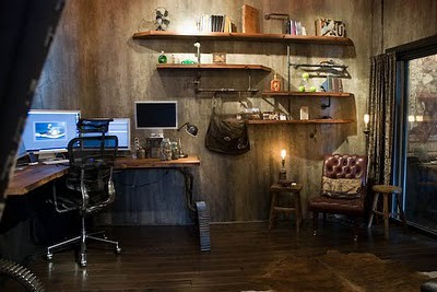 Steampunk office Home Steampunk Office By Gothicbohemian Steampunk Office By Gothicbohemian Flickr Steampunk Office Inspiration For Boys Room Jessamy Martinmay