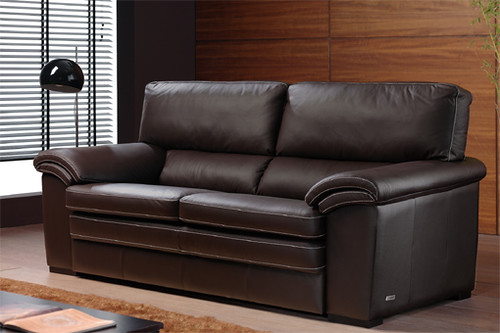 Sofas granfort de piel elegante sofa de piel de granfort for Sofas clasicos de piel