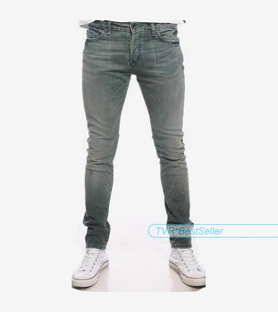 MENS GREY DISTRESSED LOOK SKINNY SCENE HIPSTER JEANS | Flickr