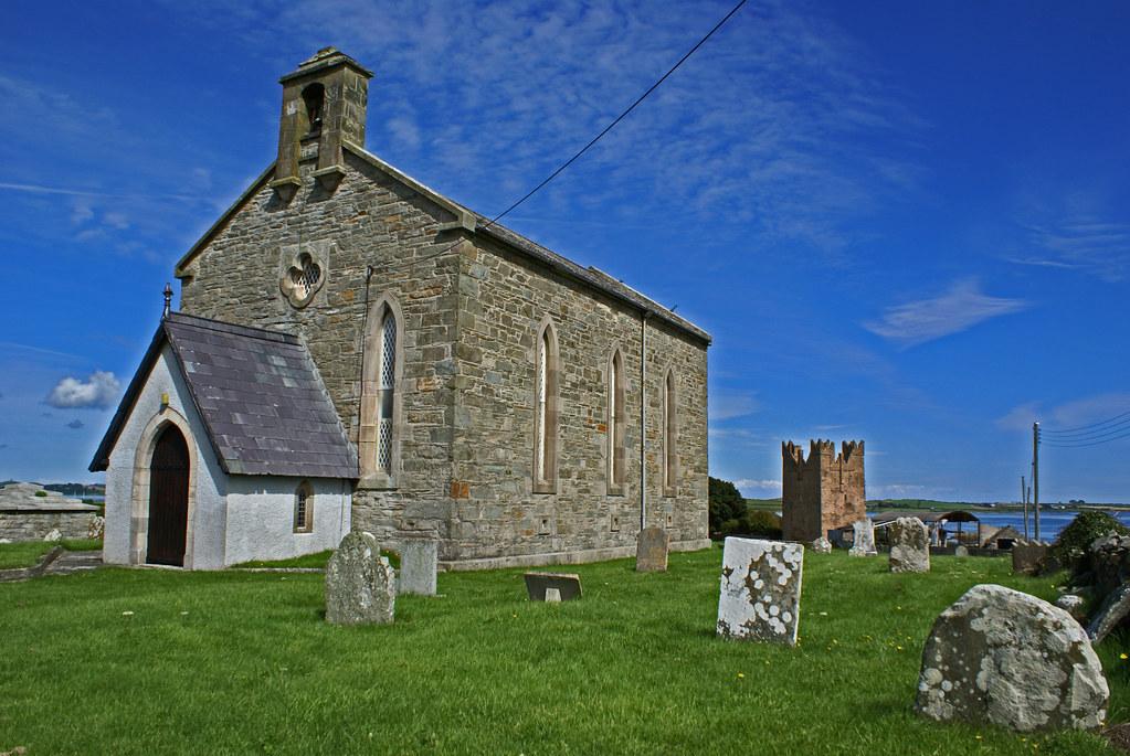 St Caelan S Church Kilclief Parish Strangford County D
