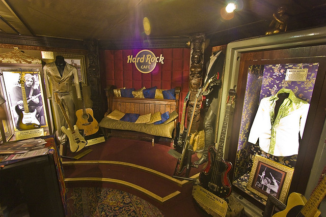 Hard Rock Cafe Map London