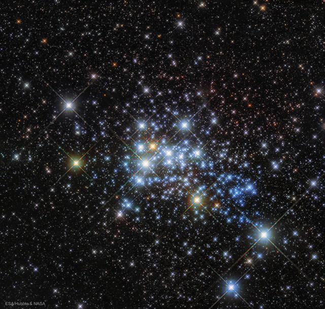 VCSE - Mai kép - Westerlund 1 csillaghalmaz - Csizmadia Szilárd