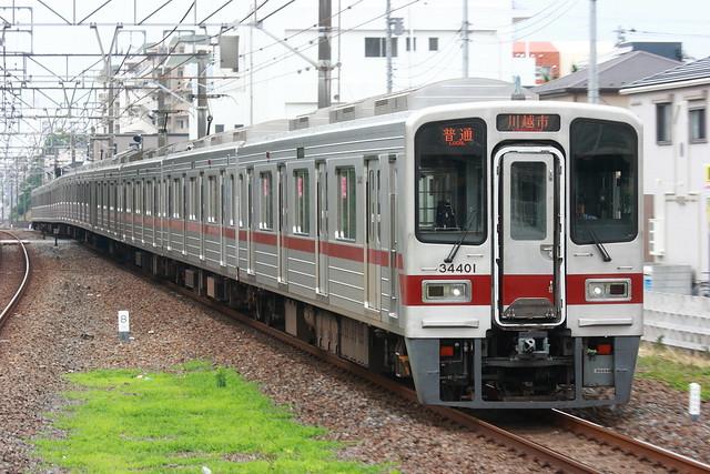東武31401F - 鶴瀬駅