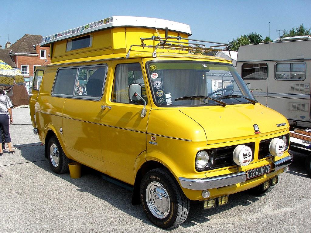 bedford camping car jaune terroir trophy airaines 27 j flickr. Black Bedroom Furniture Sets. Home Design Ideas