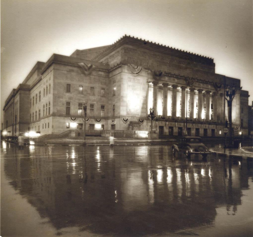 Kiel Auditorium and Opera House, 1934 | Municipal