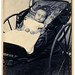Post mortem, child with rattle