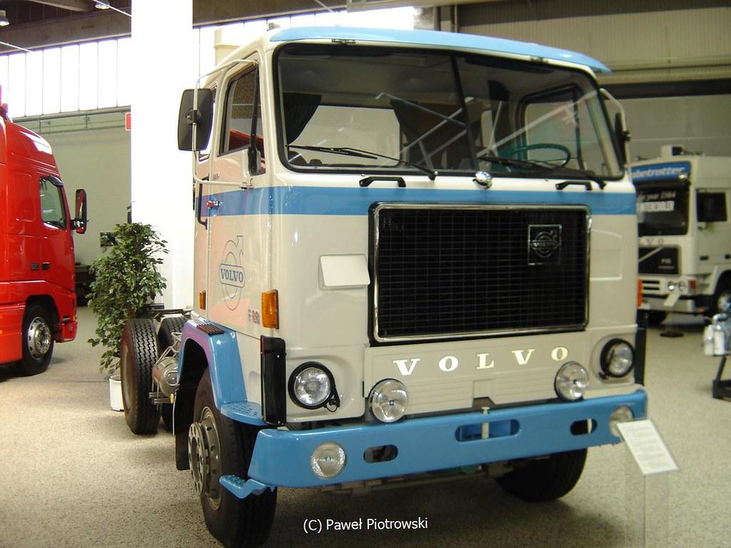 Volvo Museum- Göteborg, Sweden   The legendary Volvo F88 ...
