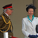 Princess Anne laughing and General The Lord Guthrie-38