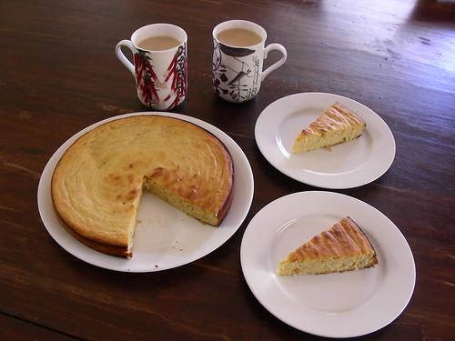Flourless White Cake