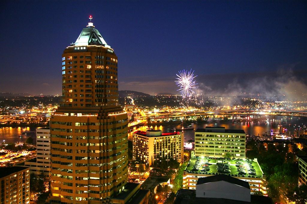 Fireworks over portland oregon ryan harvey flickr - Camera world portland ...