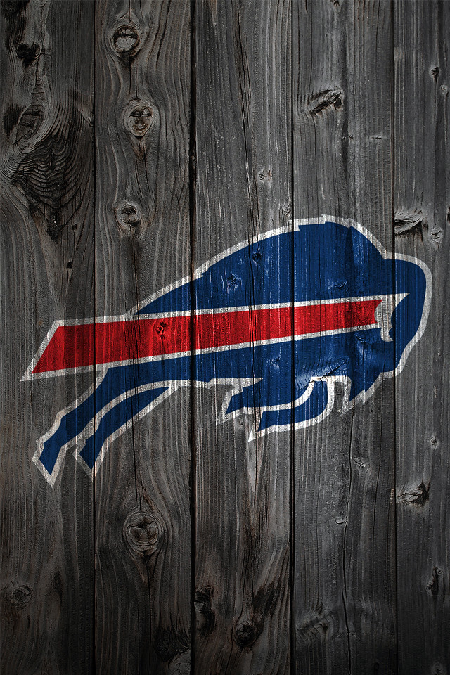 Buffalo Bills Wood IPhone 4 Background