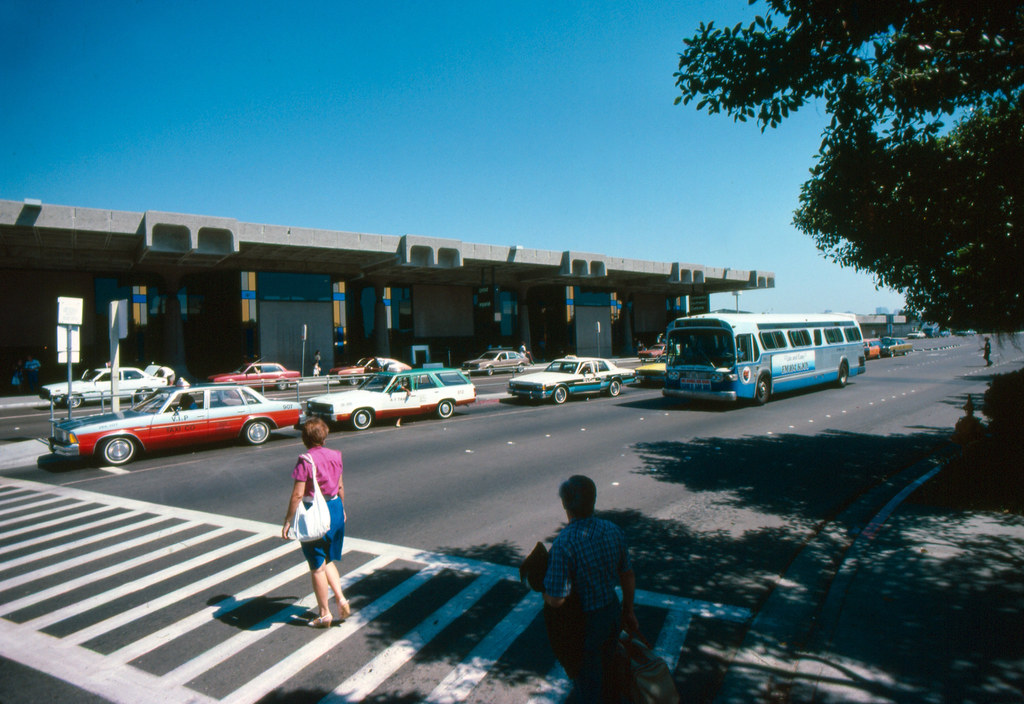 Gmc San Diego >> S.D. Airport   1972 GMC bus operating on Route 2 at San Dieg…   Flickr