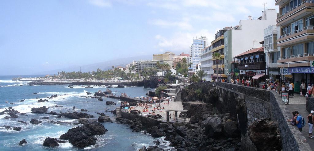 Paseo y playa de san telmo puerto de la cruz tenerife flickr - Playa puerto de la cruz tenerife ...