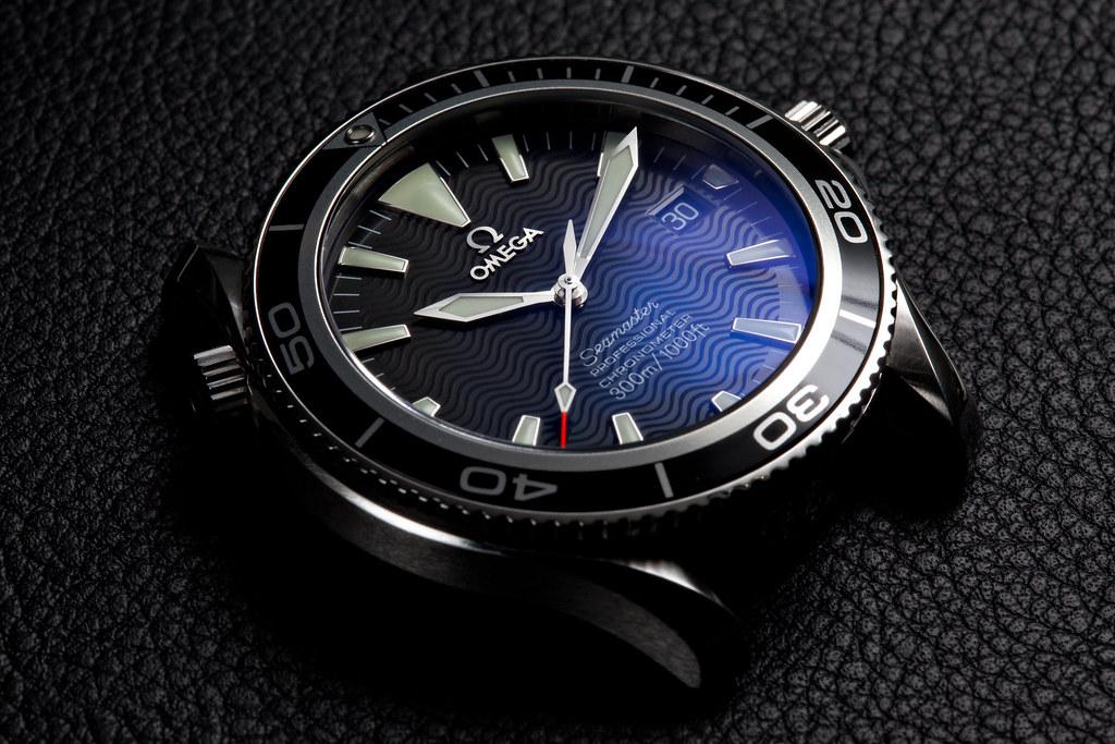 Custom omega seasmaster 2254 planpro seamaster custom flickr for Anti reflective watches
