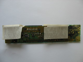 Toshiba laptop battery PA3166U-1BRS charger PCB back | by Uwe Hermann