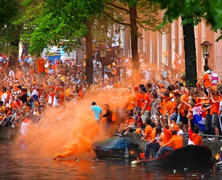 When the Dutch party they party hard – Orange party | by kees straver (will be back online soon friends)