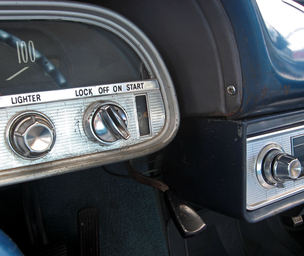 1960 Chevrolet Corvair 700 Coupe Powerglide Shifter Flickr