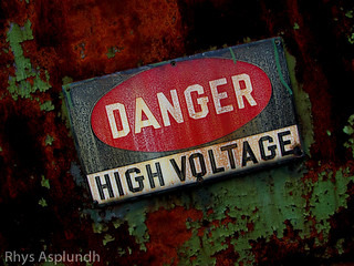 Danger: High Voltage | by Rhys A.