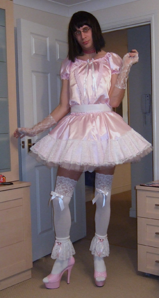 Sissy Dress | An old picture back from an old time when I ...
