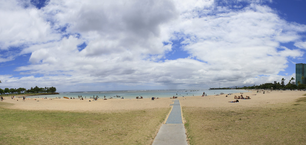 Alamoana Beach Park  Mile