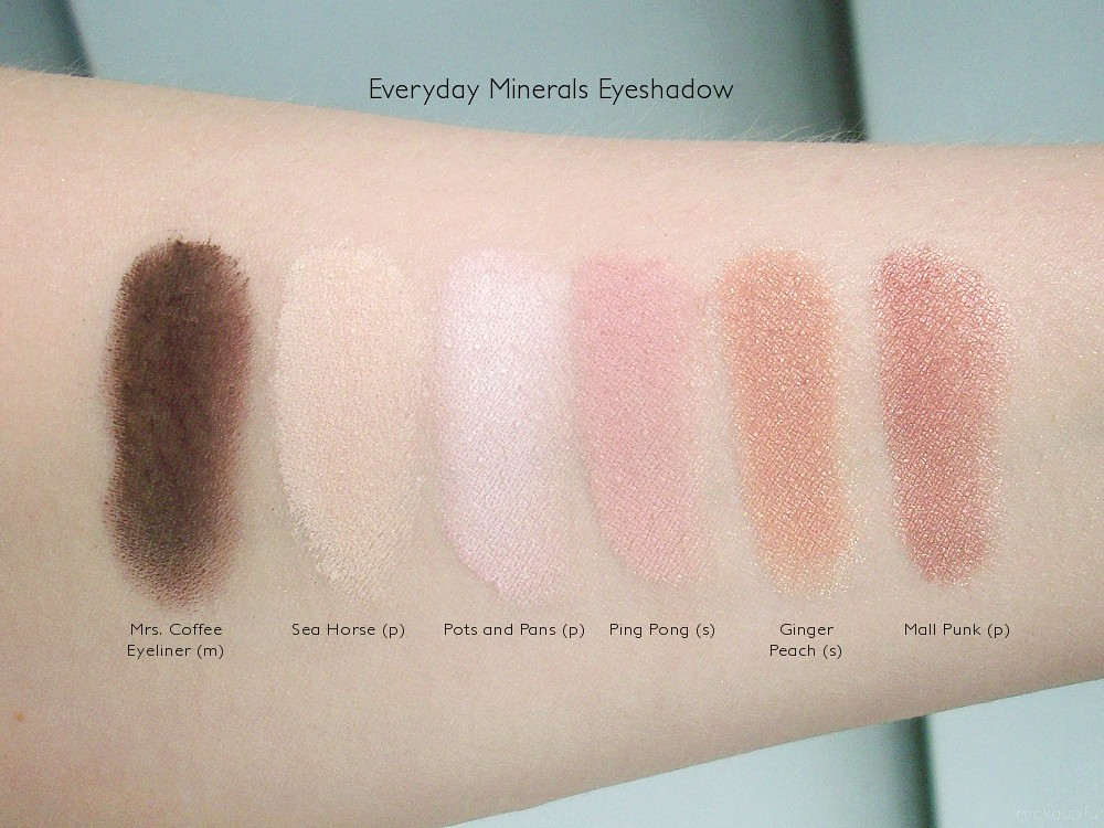 Everyday Minerals On The Reef Coral Collection Eyeshadow