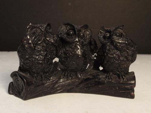 See Hear Speak No Evil Owls Some Owl Artwork I Have