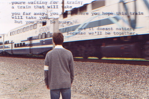 train | by maryclaire roman
