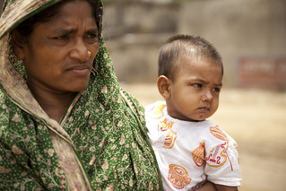 Woman and Child in Bangladesh | by IFPRI