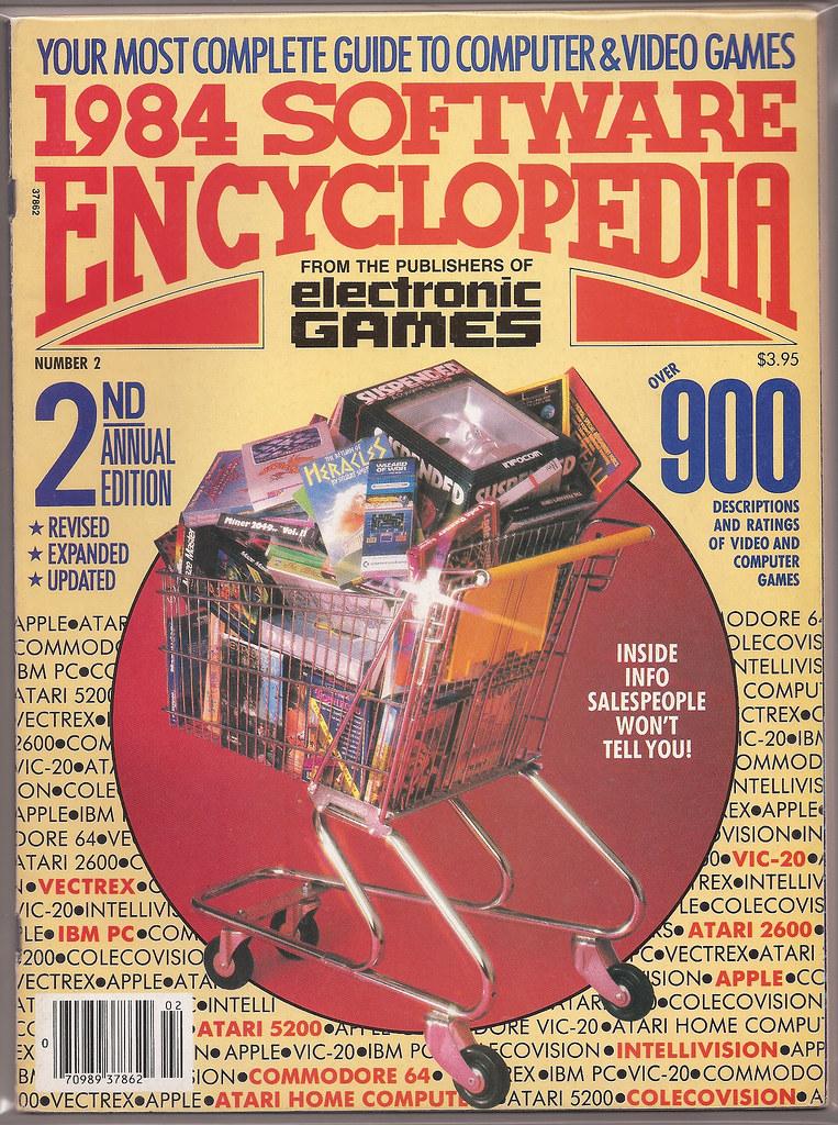 Electronic Games Magazine 1984 Software Encyclopedia | Flickr